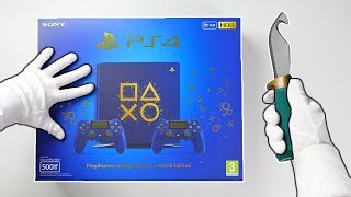 "PS4 ""DAYS OF PLAY"" LIMITED EDITION CONSOLE! Unboxing Playstation 4 Slim Blue Collector"