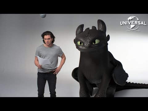 Jak vycvičit draka: Casting s Kitem Haringtonem