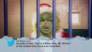 Mean Tweets – The Grinch Edition