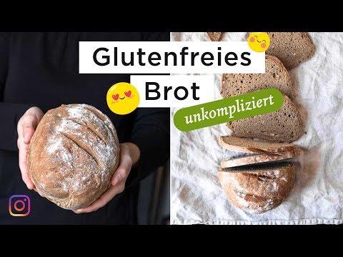 Glutenfreies Brot - ohne Hefe und Sauerteig (Schnelles Rezept)