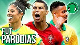 ♫ AS MINAS BRILHARAM, PORTUGAL CAMPEÃO E UM 7 A 0 | Paródia I'm Yours - Jason Mraz