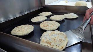 제주도에서도 택배 주문하는 구운 호떡 & 아이스 호떡 / original grilled sweet sugar pancake – hotteok / korean street food