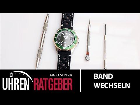 Uhrenarmband wechseln ohne Werkzeug / Uhrenband austauschen