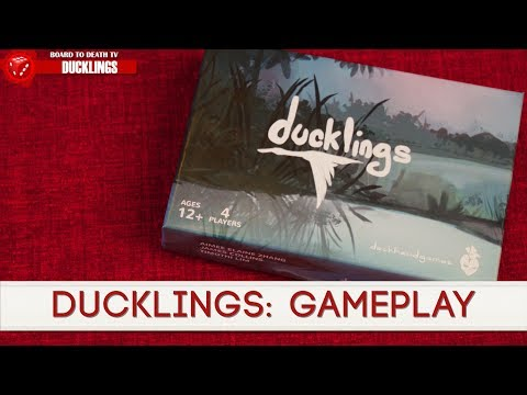 Ducklings Card Game Preview by Board to Death Reviews...