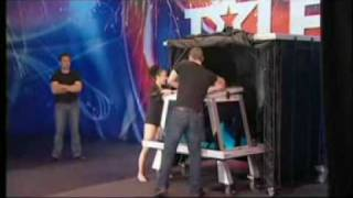 Magician, Sydney - Australias Got Talent 2009 Phoenix Water Tank Illusion, Magic