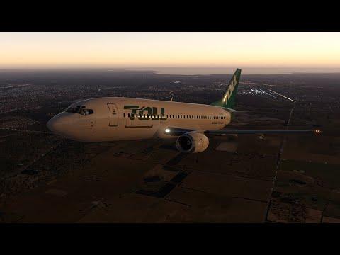 Qantas Airlines 7336 Sydney to Melbourne | X Plane 11 IXEG 733