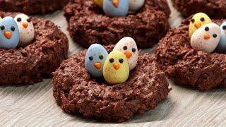 Baking Easy Bird Nest Cookies! (Gluten Free)