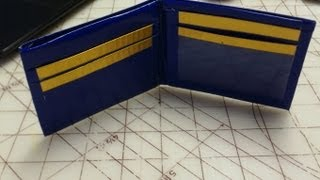 How To Make A Duct Tape Wallet ~UPDATED~