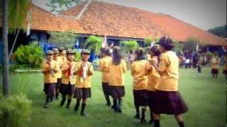 Yel-yel SDN 04 Bojongbata Perfom In Kwarran Pemalang.
