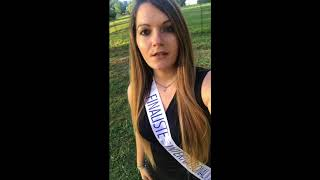Marion CECCATO, candidate Finaliste Miss International France 2017