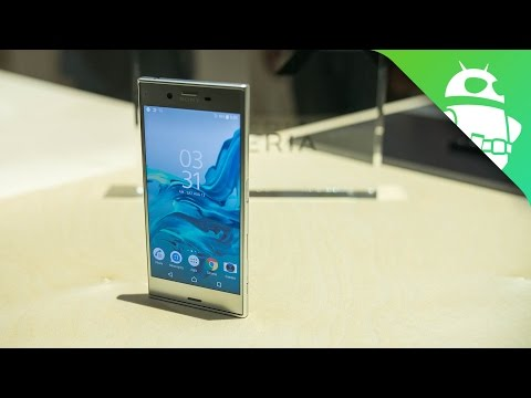 Sony Xperia XZ Hands On at IFA 2016