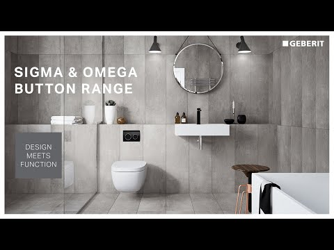 Geberit Cistern and Button Selector - Sigma and Omega