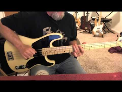 The Outfield Your Love Bass Cover Chords