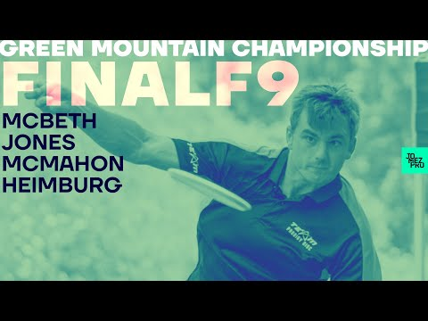 2020 GMC | FINALF9 | McBeth, McMahon, Heimburg, Jones | Jomez Disc Golf