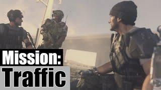 Call Of Duty Advanced Warfare Walkthrough Part 3 - Mission #3: TRAFFIC | Advanced Warfare Part 3