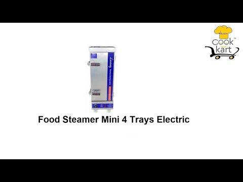 Food Steamer Mini 4 Trays Electric