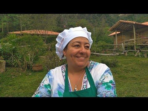 Pé na Estrada Antuérpia - Restaurante da Tia Iraci em Aiuruoca