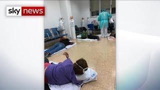 Coronavirus: Spain's hospitals are overrun