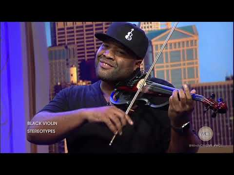 "Classically-trained hip-hop duo Black Violin performs ""Stereotypes"""