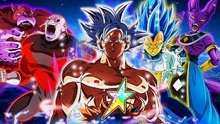 The Strongest Team on Dokkan!? 100%🌈 Limit Breaking Realm of Gods Team! Dragon Ball Z Dokkan Battle