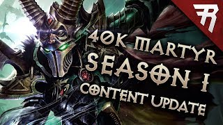 New Warhammer 40k: Inquisitor Martyr Season One Content Update