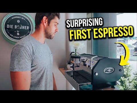 GOT A NEW ESPRESSO MACHINE - GS3 -  DAILY VLOGS