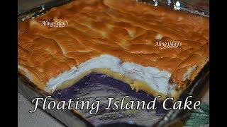 Floating Island Cake (Filipino Dessert)