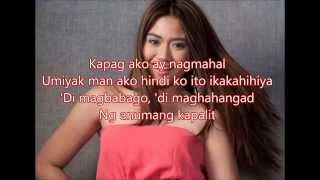 Morissette Amon - Kapag Ako Ay Nagmahal [Flordeliza OST] (With Lyrics)