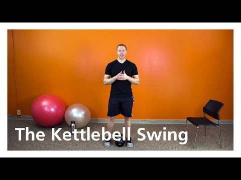 Kettlebell Swing - An exercise that works the hips, glutes, hamstrings and shoulders