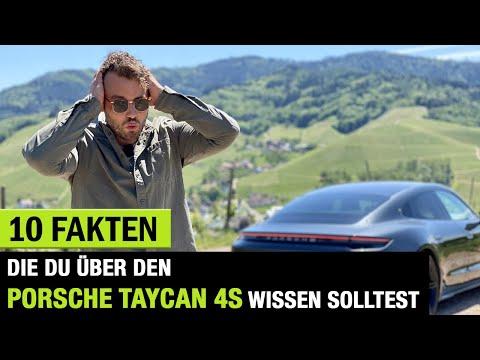 10 Fakten❗️die DU über DEN (2020) Porsche Taycan 4S wissen solltest! Fahrbericht | Review | Test⚡️🏁