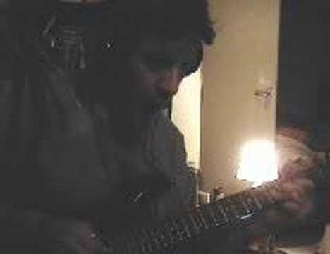 Mr Nick Nasty blues live improv -  - deliberate slow alternation of min maj blues scales