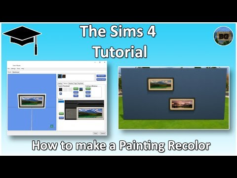 New Standalone Painting Recolor — The Sims Forums