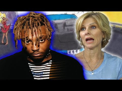 Mom REACTS To Juice Wrld - Lean Wit Me, Scared Of Love, & Candles!
