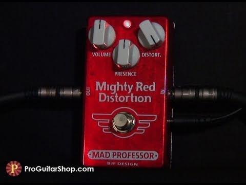 MAD PROFESSOR Mighty Red Distortion Kytarový efekt