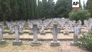 The man who guards the WW1 cemetery more than half a century on