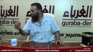 Abdullah Özütürk (Ebu Erva)-Allah'ın Huzurunda Zelil Olmak