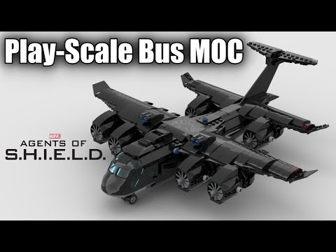 My 839 Piece LEGO Play-Scale Bus MOC (Instructions for Sale)