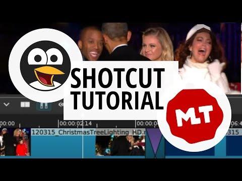 Shotcut for Mac tutorial