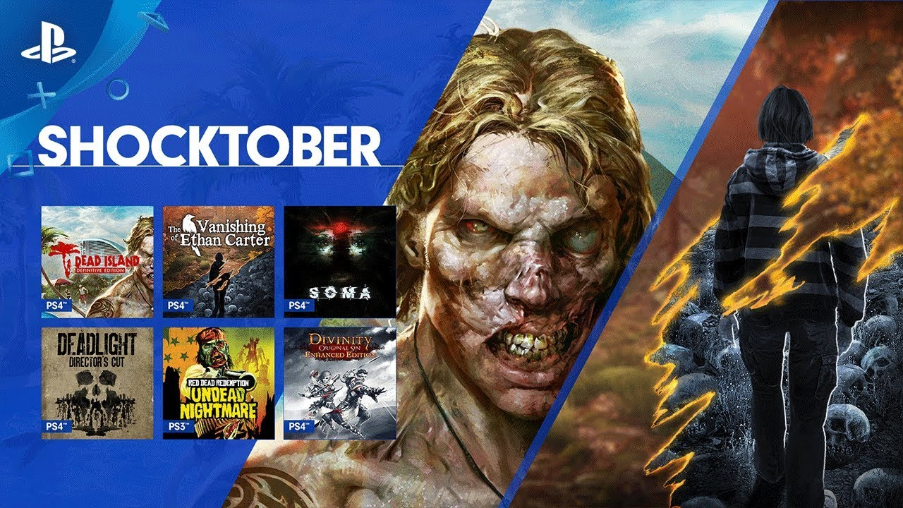 Celebrate Shocktober 2017 with 18 New Games on PS Now
