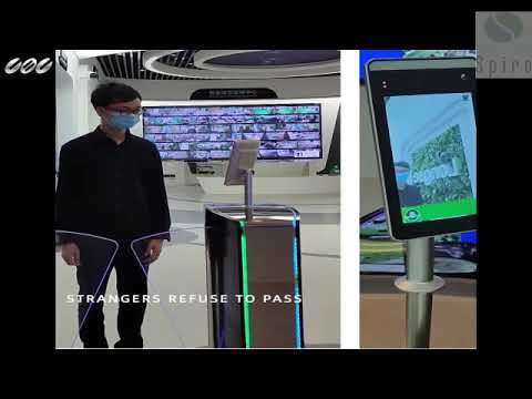 Thermal Camera Table Mounted With Facial Recognition