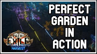 Harvest Garden Guide - PoE EXTREME Layout - Tier 2-4 Seeds NO SWAPPING