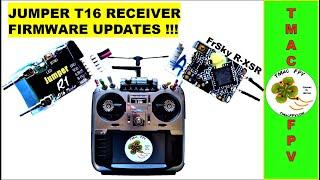 JUMPER T16 RECEIVER FIRMWARE UPDATE