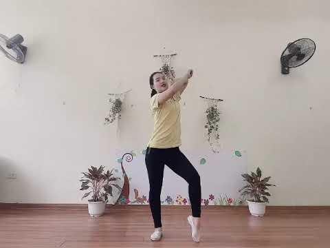 """Trường Mầm non Đinh Tiên Hoàng- Vận động âm nhạc """"Nhà mình rất vui"""""""