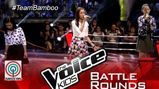 "The Voice Kids Philippines 2015 Battle Performance: ""Hold On"" by Nikki vs Alexis vs Sassa"