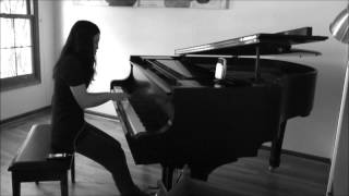 Come Away To the Water Hunger Games Maroon5 Piano Cover (HD Instrumental)
