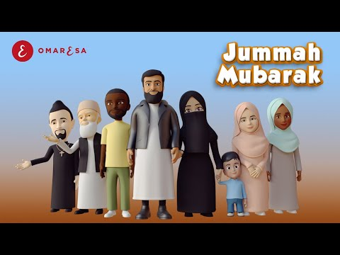 , title : 'Omar Esa - Jummah Mubarak Nasheed | 3D Islamic Cartoon'