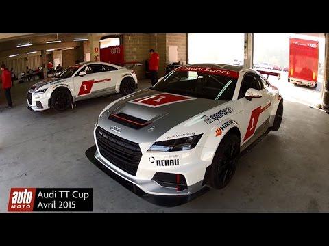 Audi TT Cup 2015 : TEST DRIVE sur le circuit de Castellolí