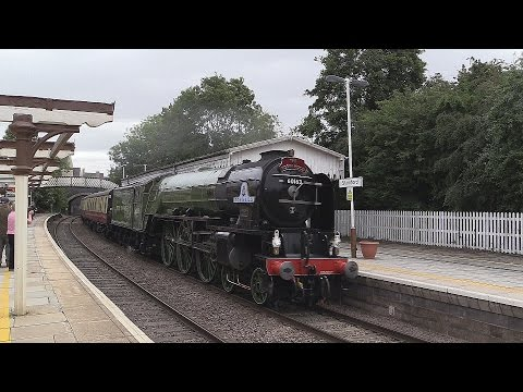 LNER A1 60163 'Tornado' at Stamford with 'The Robin Hood' 13…