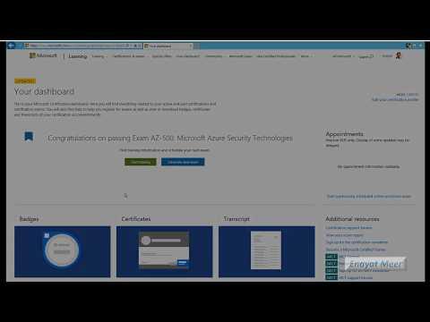 Check Microsoft Delayed Exam result online - YouTube