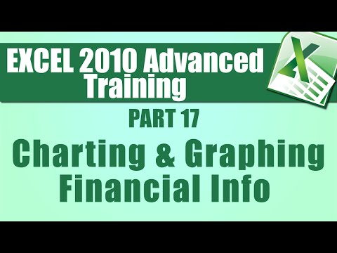 Microsoft Excel 2010 Advanced Training - Part 17 - Charting ...